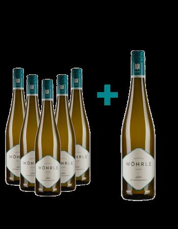 Weinpaket VDP.ORTSWEINE 2019 Weissburgunder 5+1