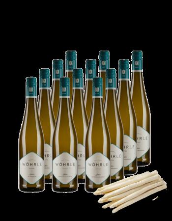 Weinpaket Spargel VDP.Ortsweine 12 Flaschen